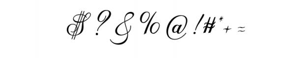AnatomiaScript.otf Font OTHER CHARS