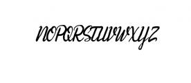 Andhewi.ttf Font UPPERCASE