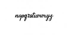 Andhewi.ttf Font LOWERCASE