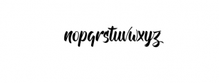 Andhibath Font LOWERCASE