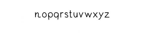 Andrei_PRO.otf Font LOWERCASE