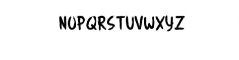 Angemurphy-Blackletter.otf Font UPPERCASE