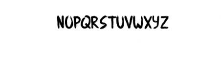 Angemurphy-Blackletter.otf Font LOWERCASE