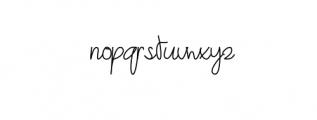 Angemurphy.otf Font LOWERCASE