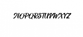 Anthemie Font UPPERCASE