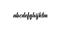 Anthemie Font LOWERCASE
