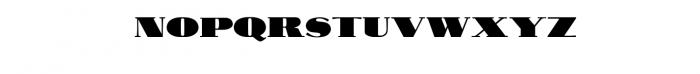 Antique Financial Font Font UPPERCASE