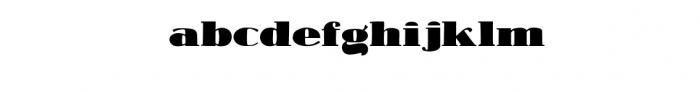 Antique Financial Font Font LOWERCASE