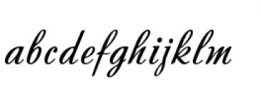 Andantino Font LOWERCASE