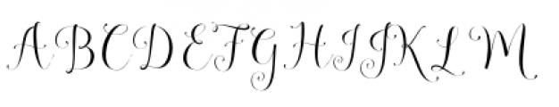 Annabella Regular Font UPPERCASE
