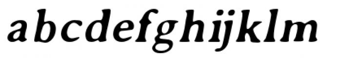 Annexxus Italic Font LOWERCASE