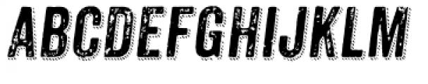 Anodyne Combined Italic Font UPPERCASE