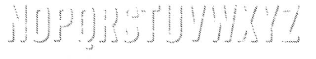 Anodyne Shadow Font UPPERCASE