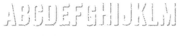 Anodyne Shadow Font LOWERCASE