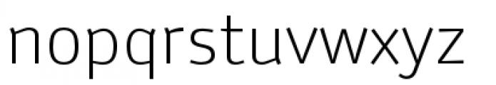 Anomoly Light Font LOWERCASE