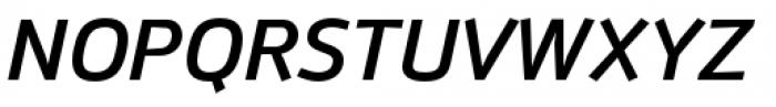 Anomoly Medium Italic Font UPPERCASE