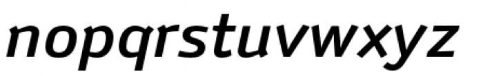 Anomoly Medium Italic Font LOWERCASE