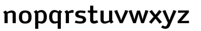 Anomoly Medium Font LOWERCASE