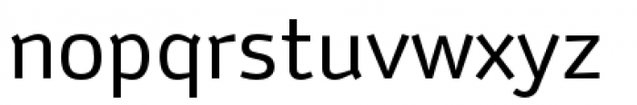Anomoly Regular Font LOWERCASE