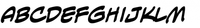Anti Hero Intl BB Bold Font LOWERCASE