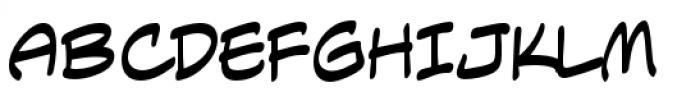Anti Hero Intl BB Regular Font UPPERCASE