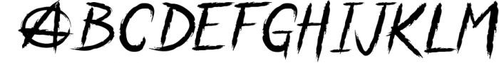 Anarchaos Font UPPERCASE