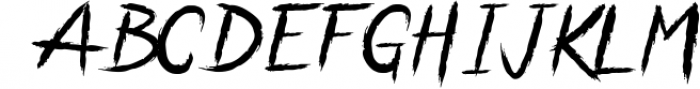 Anarchaos Font LOWERCASE