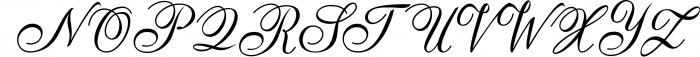 Anatomia Script Font UPPERCASE
