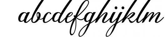 Anatomia Script Font LOWERCASE
