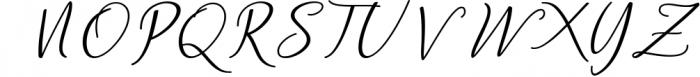 Andella Script Font UPPERCASE
