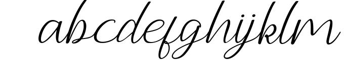Andella Script Font LOWERCASE