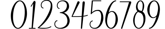 Andina - Modern Script Font Font OTHER CHARS