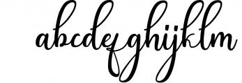 Andina - Modern Script Font Font LOWERCASE