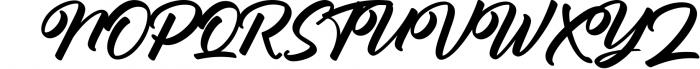 Antonellie Hand Lettered Script 1 Font UPPERCASE