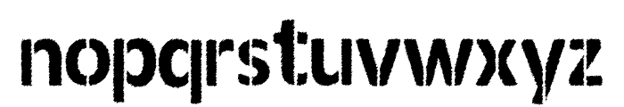 ANDERSON Font LOWERCASE