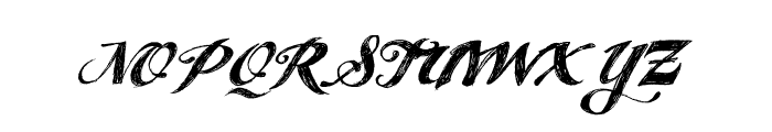 ANGELTEARS-trial Font UPPERCASE