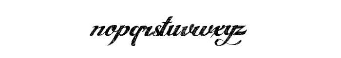ANGELTEARS-trial Font LOWERCASE