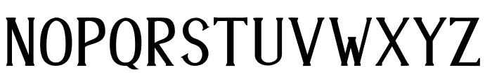 ANTENNA Font LOWERCASE