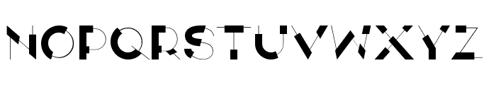 ANTI Display Font UPPERCASE