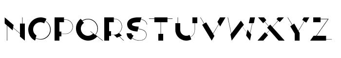ANTI Display Font LOWERCASE