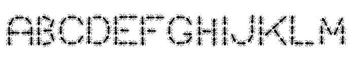 ANTY Bold Font LOWERCASE