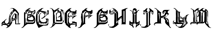 ANVIL Font UPPERCASE