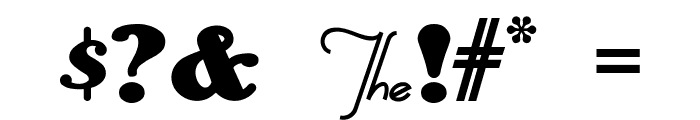 AnAkronism Font OTHER CHARS