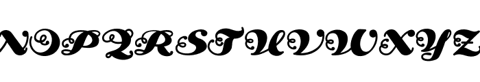 AnAkronism Font UPPERCASE