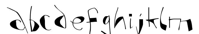 AnAlphaBetIsmXtreme Font LOWERCASE