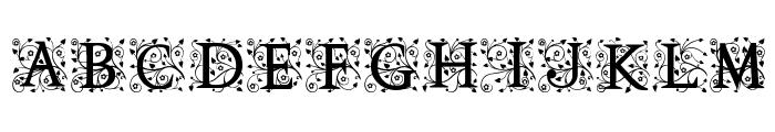 Anabel Alt Font UPPERCASE