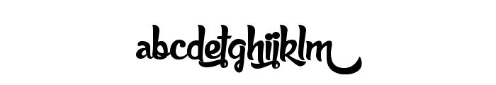 Anabelle Script Font LOWERCASE