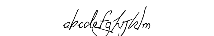 Anachronism Font LOWERCASE