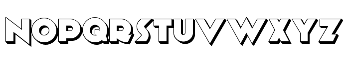 Anagram Shadow NF Font UPPERCASE