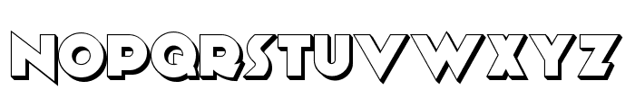 Anagram Shadow NF Font LOWERCASE